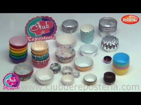 Capacillos o Pirotines para Cupcakes