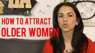 How To Attract Older Women (Cougars)
