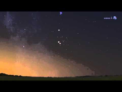 Bright Lights in Summer Sky: Venus and Jupiter Sky Show | Video