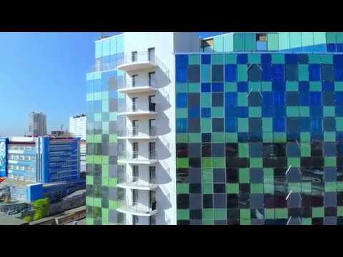 Строящаяся гостиница на кольце Инструментального завода. Партизанский проспект, 44 к9.Владивосток.