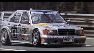 """DTM Mercedes 190E 2.5 16V Evo II """"Berlin 2000"""", Ellen Lohr, Keke Rosberg"""