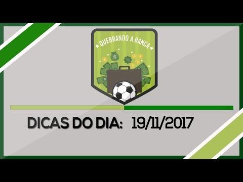 QUEBRANDO A BANCA: Dicas do dia 19/11/2017