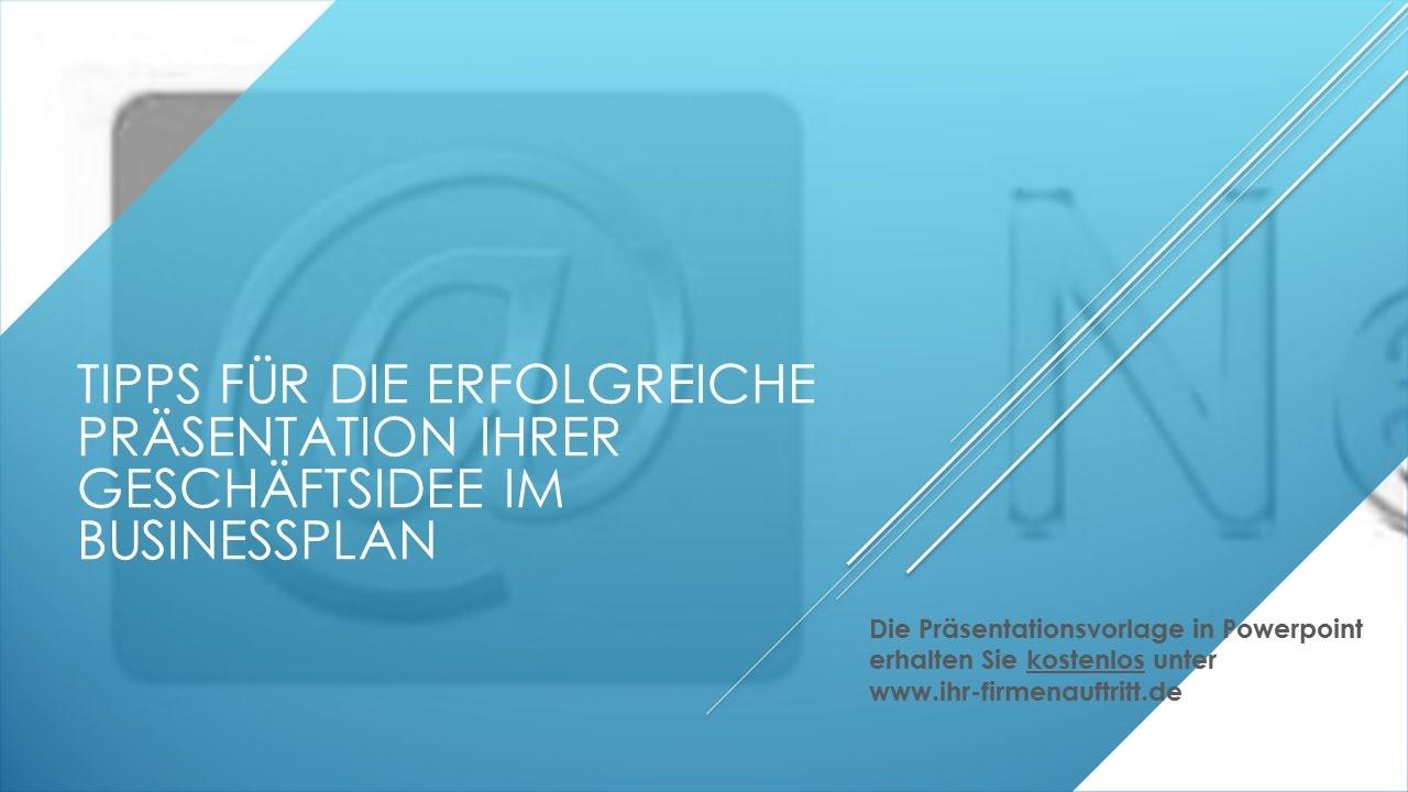 powerpoint vorlage businessplan - Geschaftsplan Muster