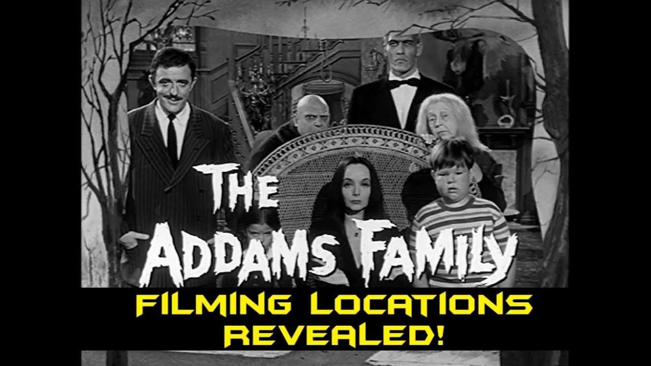 Download Addams Family (Original TV Show) FILMING LOCATIONS Revealed! Before and After/Then and Now!