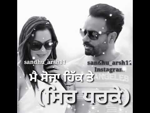 Latest Punjabi Sad Song Whatsapp Status Babbu Maan