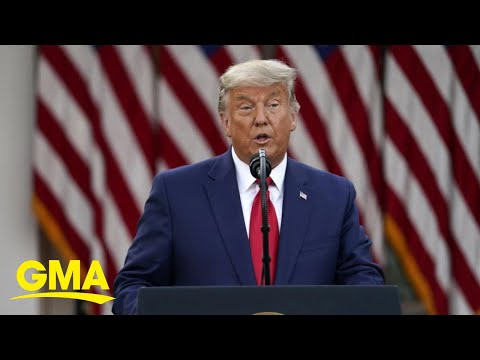 Trump Persuaded Against Military Action Against Iran L GMA