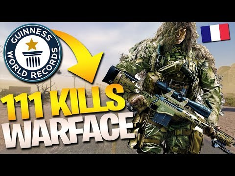 NEW WARFACE PS4 WORLD RECORD - CHEYTAC 111 KILLS (ASSAULT)