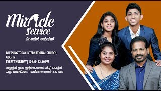 Gambar cover Miracle Service from Blessing Today International Church - 27 Jun 2019