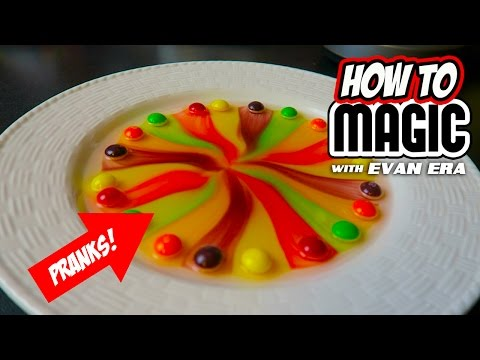 Thumbnail: 10 MAGIC FOOD PRANKS!