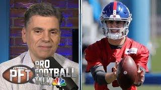 Will Eli Manning or Daniel Jones start for the New York Giants? | Pro Football Talk | NBC Sports