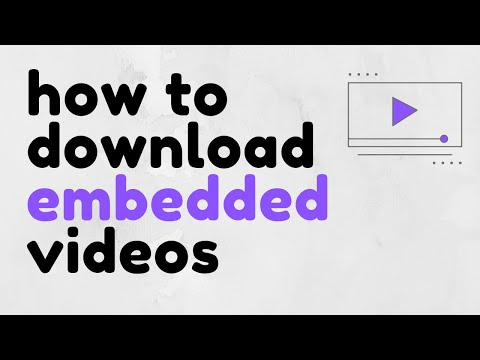 How To Download Embedded Videos Using DevTools