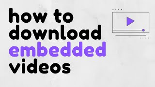 How to Download Embedded Videos Using DevTools screenshot 3