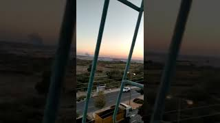 Iron Dome missile defense system in Ashkelon
