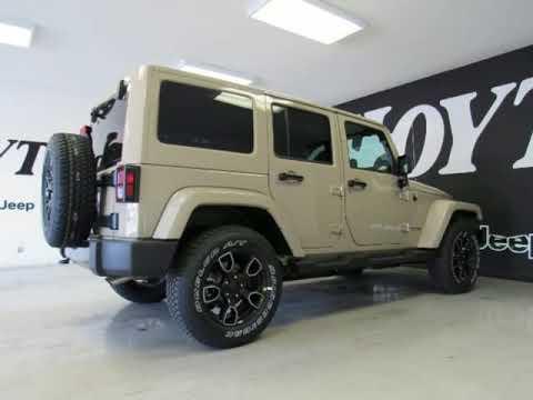 2018 Jeep Wrangler Jk Unlimited Altitude Gobi New Suv For Sale Near