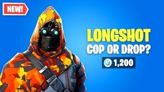 Fortnite Longshot Skin Worth It? Mira esta piel!!