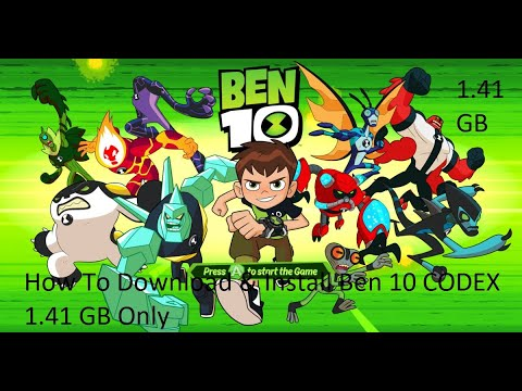 How To Download & Install | BEN 10 Codex Only 1.41 GB | GamerX 10
