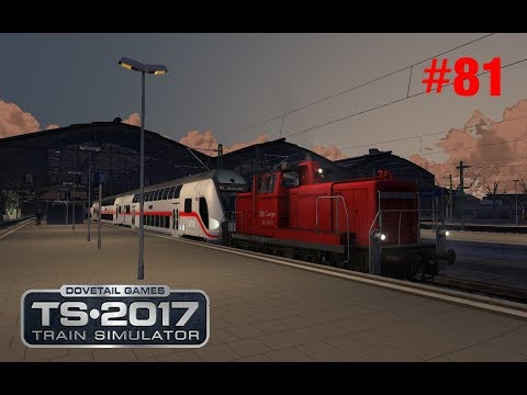 Train Simulator 2017 Let`s Play #81 Rangierdienst mit V60 in Leipzig Hbf