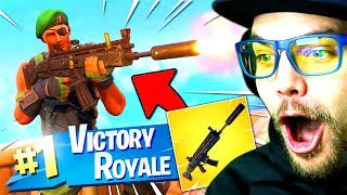 "NOUVELLE ARME ""SCAR SILENCIEUX"" sur FORTNITE BATTLE ROYALE !!"