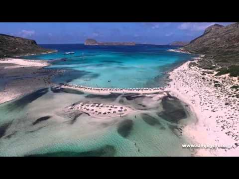 The lagoon of Balos