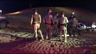 RZR Pursuit in Glamis Ends With Gnarly Crash