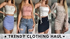 try-on summer clothing haul   the moodss