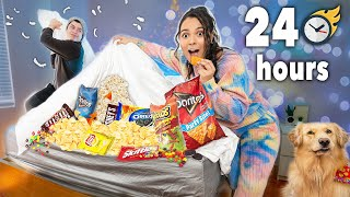 24 Hour Overnight Room Challenge! (Yikes!)