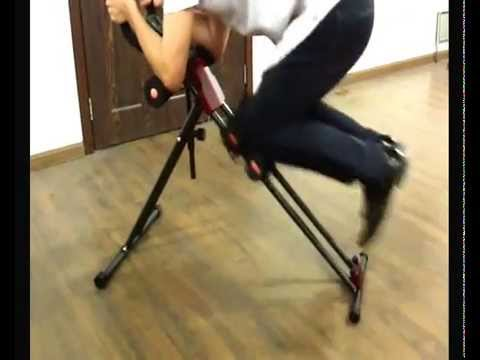 85ab77c8baa54 The video tell how to use the 5 minutes shaper with different workout  position