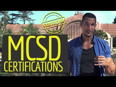 Are MCSD Certifications A Good Option?
