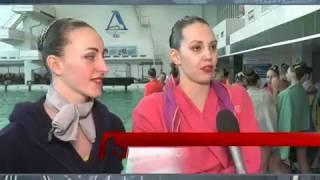 Синхронное плавание. Чемпионат Украины, первый день