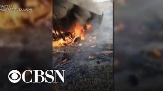Rockets strike Iraqi military base housing U.S. troops