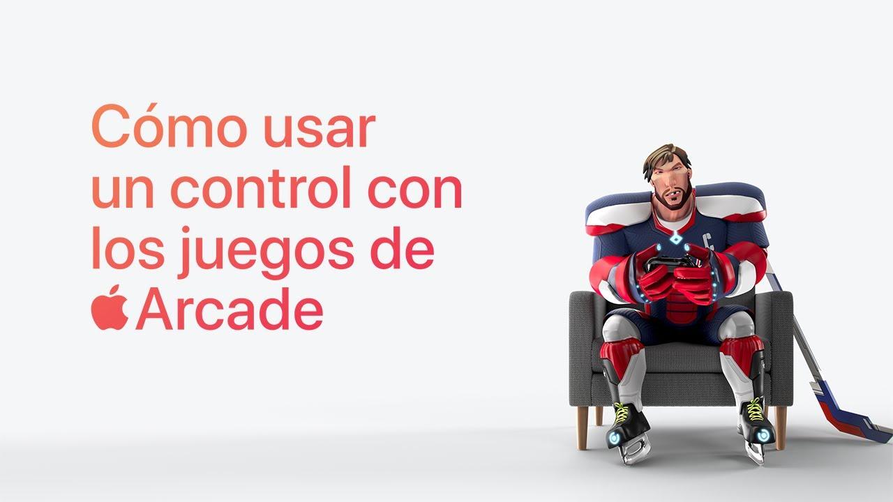 Cómo usar un control con los juegos de Apple Arcade