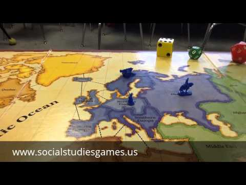 Social Studies Review Game with Risk