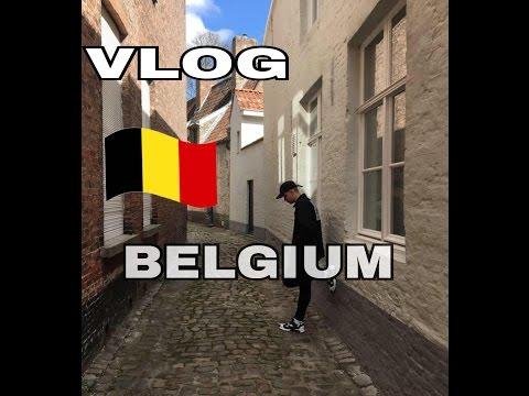 VLOG BELGIUM/SNEAKERS(BRUSSELS AND BRUGGE)