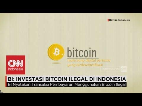 BI: Transaksi Bitcoin Ilegal Di Indonesia