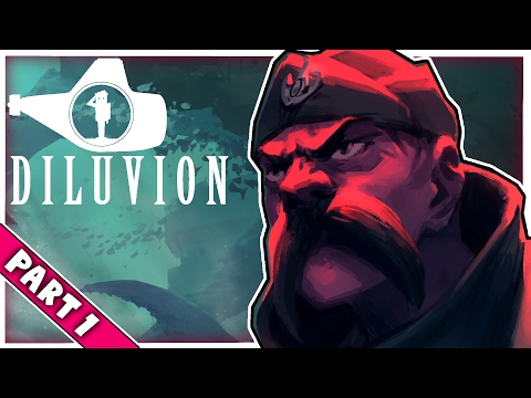 SUBMARINE SURVIVAL - Diluvion - Part 1 (Lets Play/Gameplay/Walkthrough)