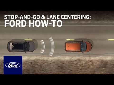 Adaptive Cruise Control With Stop-and-Go and Lane Centering | Ford How-To | Ford