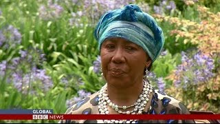 MANDELA'S DAUGHTER DESCRIBES HER FATHERS FINAL MOMENTS - BBC NEWS