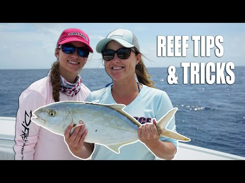 Florida Keys REEF FISHING Tips & Tricks! Ladies Fish Camp Part 1