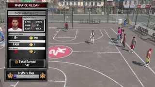 NBA 2K15 (PS4) - My Park VS Paul George || Game 1