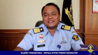Testimoni Pisah Sambut Kepala Kantor Wilayah Kementerian Hukum dan HAM Bali Bapak Maryoto Sumadi, MS