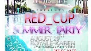 ultra life africa red cup summer pool party promo video