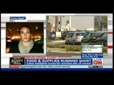 CNN news Egypt Cairo 1-31-2011