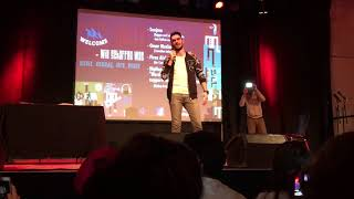 Omar Maslmani   stand up Comedy - Düsseldorf 27.09.2017