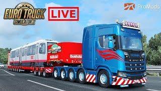 ✅ ETS2 ProMods / Scania 10x4 / 90 Ton Bridge and Stock V8 v1.1 by Kriechbaum