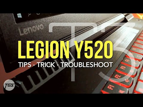 LENOVO Y520 (Part 2) | TIPS TRICK TROUBLESHOOT