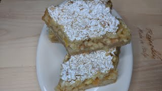 Вкуснейший лимонный пирог !  (Tasty lemon cake!)