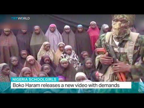 Nigeria Schoolgirls: Boko Haram releases a new video with demands, Fidelis Mbah reports