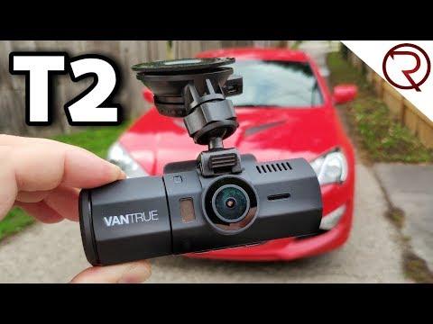 Vantrue T2 Dash Camera 24/7 Surveillance Review & Sample Footage
