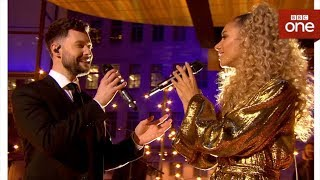 Calum Scott and Leona Lewis duet 39 You Are The Reason 39 live The One Show BBC One