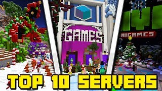 TOP 10 SERVERS FOR MCPE! - Minecraft PE (Pocket Edition)